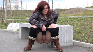 Pee Video Boots and Leggings