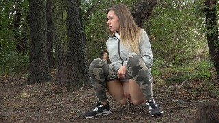 Pee Video Camo Pants