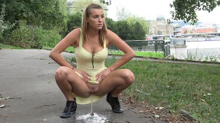 Pee Video Crouched