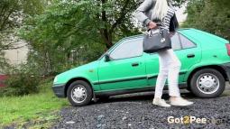 Green Car screen cap #24