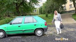 Green Car screen cap #3