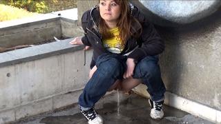 Pee Video Grey Corner