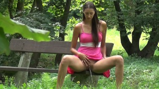 Pee Video Jane in a Park