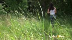 Rebecca on Grass screen cap #31