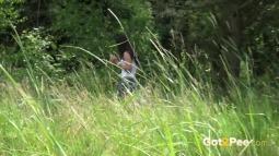 Rebecca on Grass screen cap #32