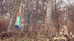 Blue Leggings Waterfall screen cap #26