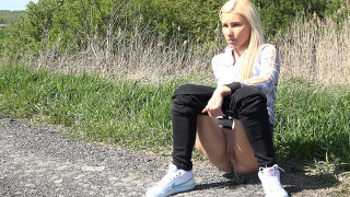 Pee Video Bright White Pumps