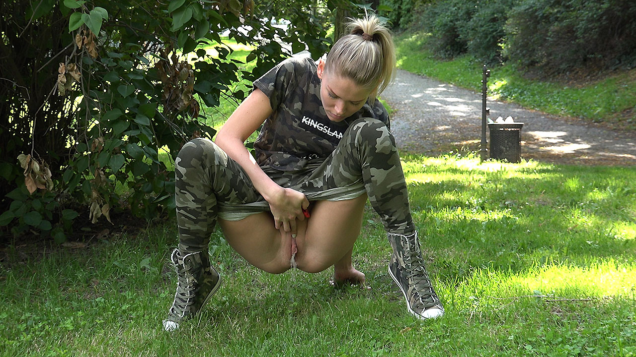 Camo Head to Toe