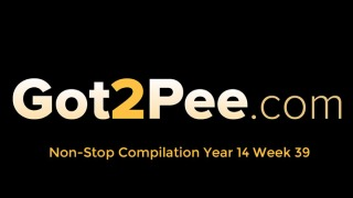 Pee Video Compilation 1439