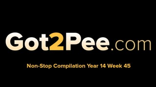 Pee Video Compilation 1445