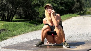 Pee Video Hot Blonde