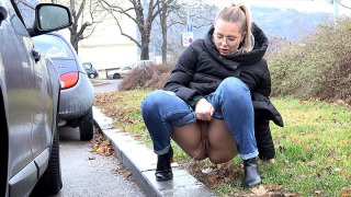 Pee Video Nikki Pees In Public