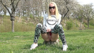 Pee Video Outside With Nature