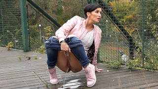 Pee Video Pink and Denim
