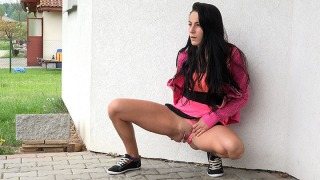 Pee Video Pink Panties