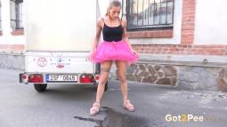 Pink Skirt screen cap #10