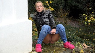 Pee Video Pink Sneakers