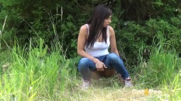 Rebecca on Grass screen cap #13