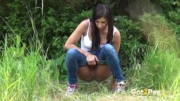 Rebecca on Grass screen cap #14