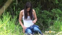 Rebecca on Grass screen cap #22