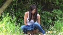 Rebecca on Grass screen cap #24