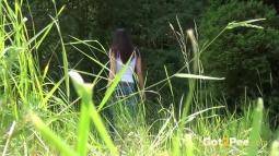 Rebecca on Grass screen cap #30