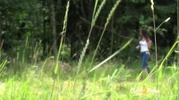 Rebecca on Grass screen cap #4