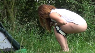 Pee Video Straight from Tent